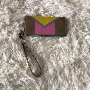 New ! Mossimo supply co. Colorful wristlet !
